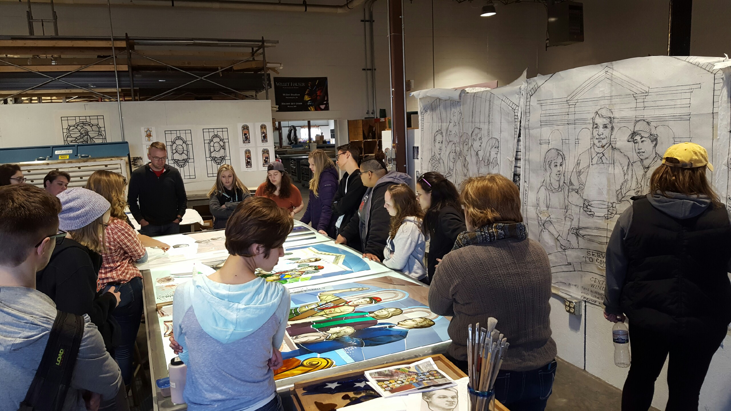 Studio tours for schools and other groups
