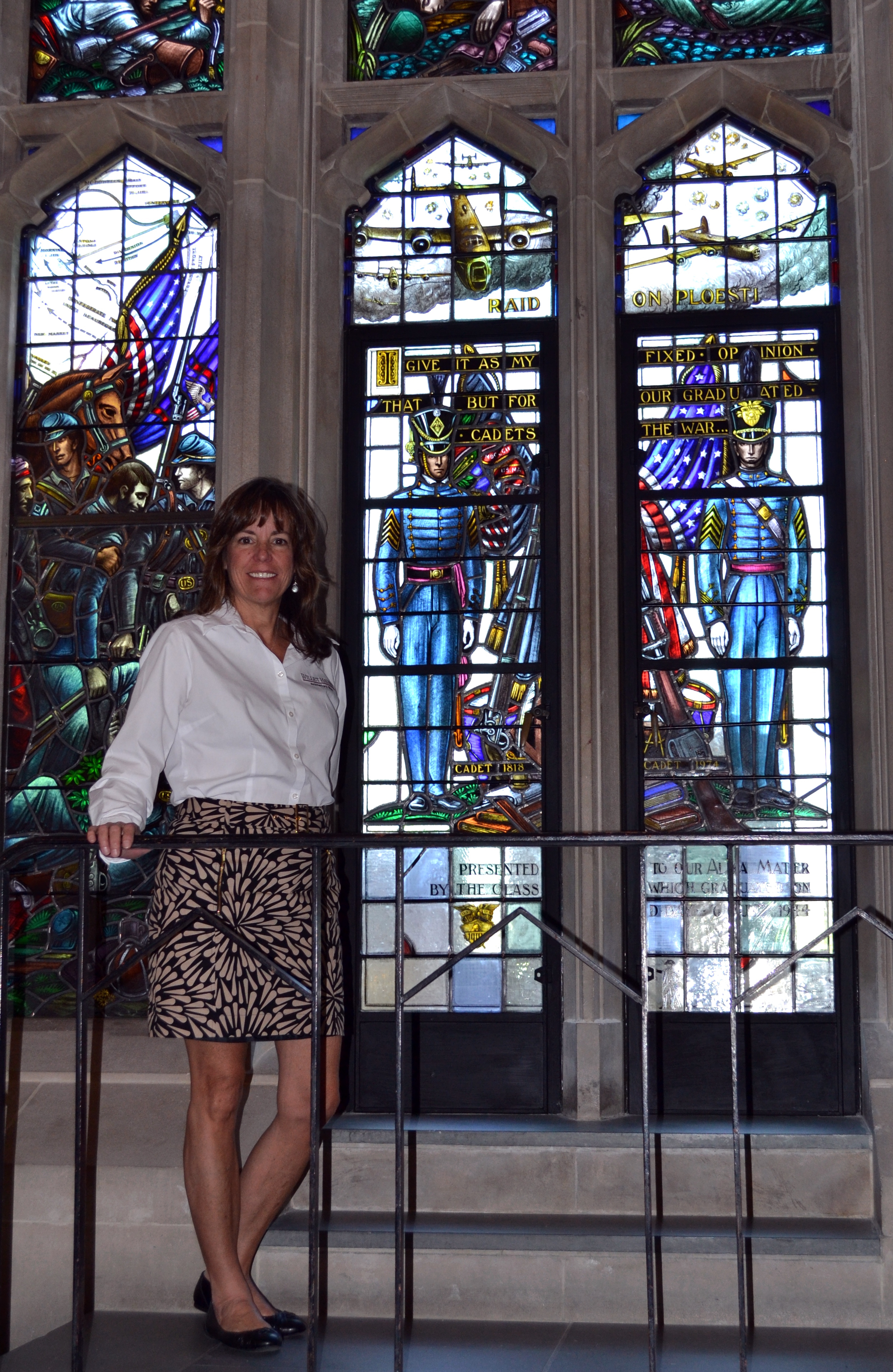 Kathy Jordan, Stained Glass Painter At Willet Hauser