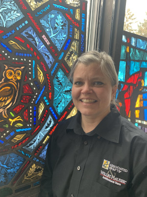 Melissa Janda, Stained Glass Painter And Designer At Willet Hauser