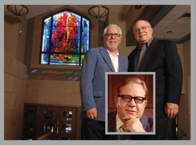 Mike And Jim Hauser At The Cathedral Of The Sacred Heart, Winona, MN