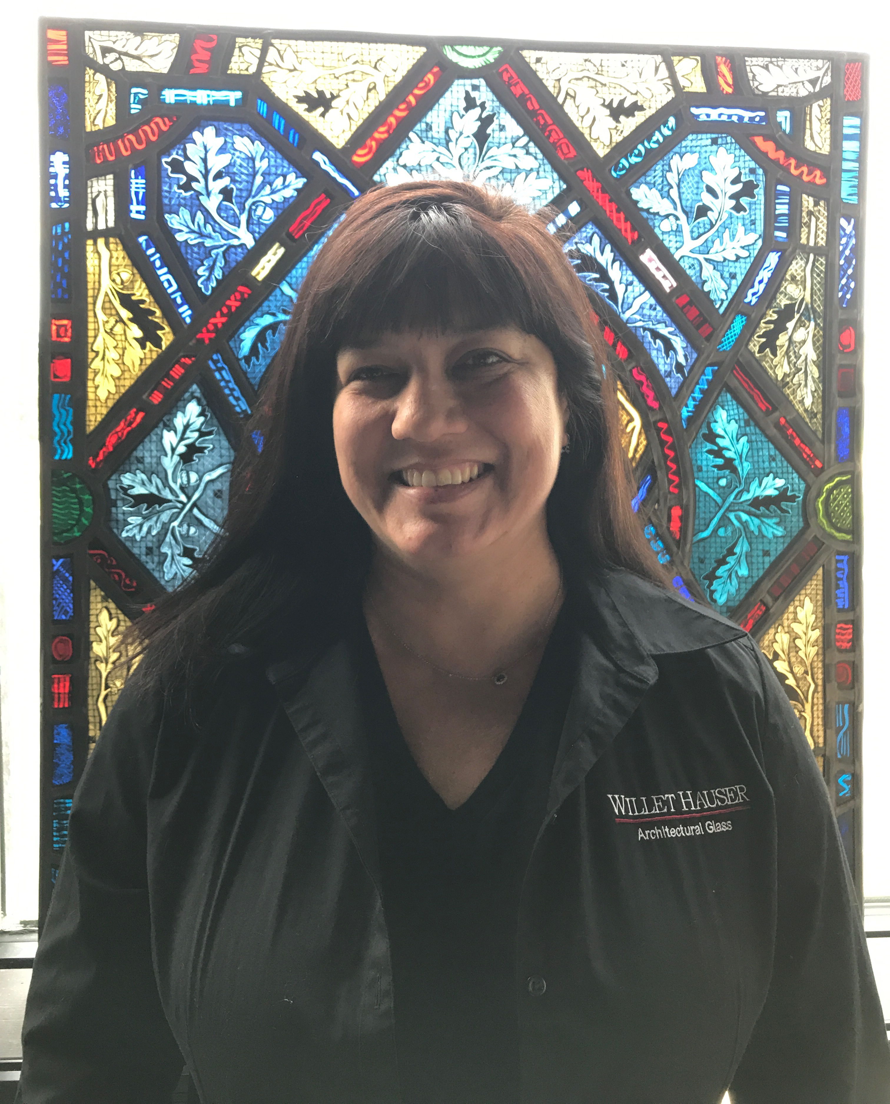 Rebecca Pennington, Scheduling Manager for Associated Crafts / Willet Hauser Architectural Glass Inc.